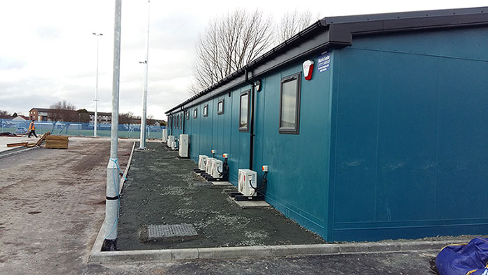 Anti-Vandal Cabins Supplier in Omagh, Northern Ireland - MCC Building System