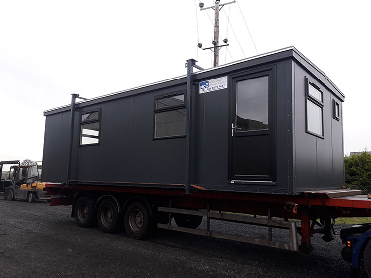 Portable Cabin Supplier for Construction Industry in Omagh, Northern Ireland - MCC Building Systems