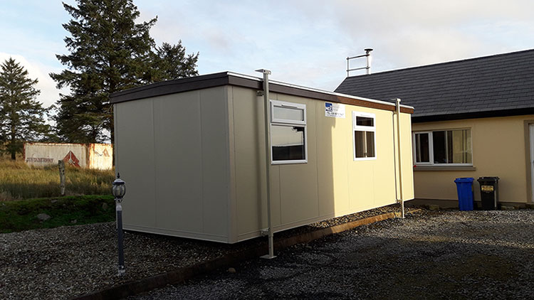 Jackleg Cabins Supplier in Omagh, Northern Ireland - MCC Building Systems