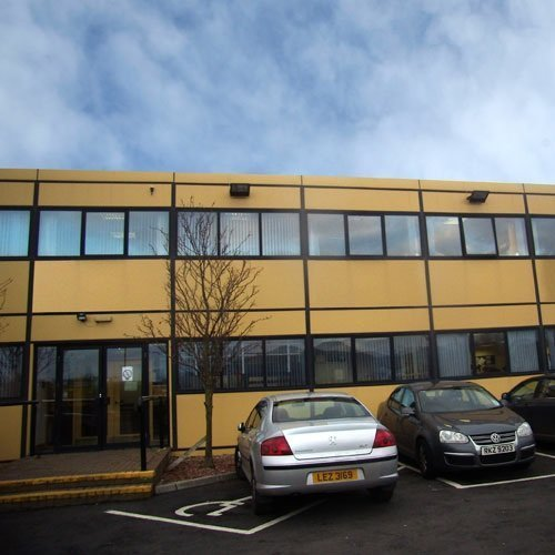 Modular Building Supplier for the Healthcare Industry in Omagh, Northern Ireland - MCC Building Systems